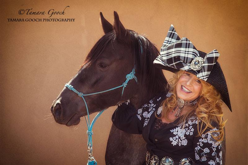 Tamara Gooch - Photo Shoot Sunday - Izzy with Karen.